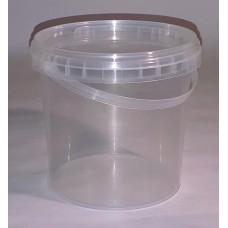 Пластиковое ведро 1000мл с крышкой