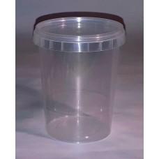 Пластиковый контейнер 520 мл с крышкой