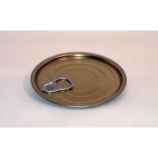 Крышка для консервной банки с ключом (easy open) Д99мм